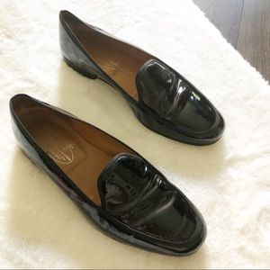 Stubbs & Wootton Venetian Patent Leather Loafers